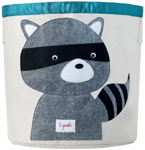 Purchase 3 Sprouts Storage Bin, Raccoon