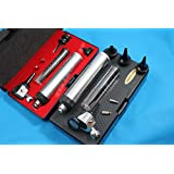 NEW Otoscope Set ENT Medical Diagnostic Surgical Instruments ( ) + 2 FREE REPLACEMENT BULB ( CYNAMED BRAND )