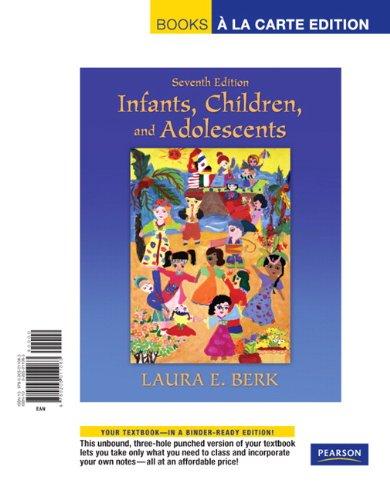 Infants, Children, and Adolescents, Books a la Carte...