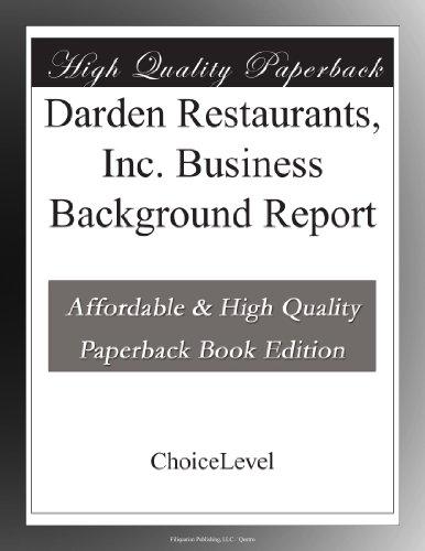 darden-restaurants-inc-business-background-report