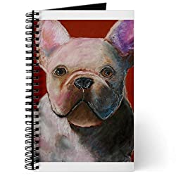 CafePress French Bulldog Painting Journal - Standard Blank made by CafePress