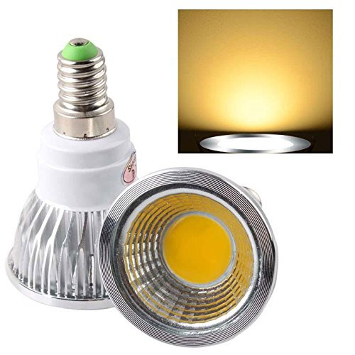 Ultra Bright E14 Led Cob Dimmable Spot Down Light Lamp Bulb Warm White 6W F2Home Useful