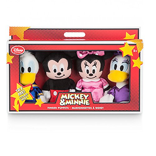 Official-Disney-Mickey-Mouse-Friends-4-Finger-Puppets-Set