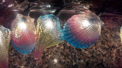 Christmas Shell String Lights 10 per set