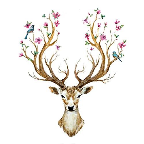 eizur-3d-pvc-cerf-sika-stickers-muraux-amovible-decoratifs-deer-autocollants-pour-chambre-restaurant