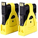 Taser 22149 2 Pack Replacement Live Cartridges for The X2, Small, Black/Yellow (Pack of 2) (Color: Black/Yellow, Tamaño: Small)