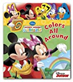 Mickey Mouse Clubhouse Colors All Around (Flap n Tab)