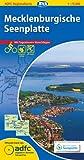 ADFC-Regionalkarte Mecklenburgische Seenplatte mit Tagestouren-Vorschlägen, 1:75.000, reiß- und wetterfest, GPS-Tracks Download