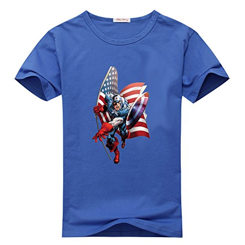 Cody Lundin Men's Sonic Compression Sleeveless Captain America the Avengers 2 T-shirt
