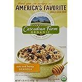 Cascadian Farm Oats & Honey Granola Cereal, 16 Oz