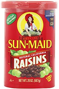 Sun Maid Natural California Raisins, 20-Ounce