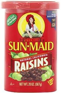 Sun Maid Natural California Raisins, 20-Ounce
