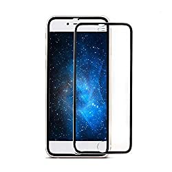 ivolks iPhone 6S Screen Protector, iPhone 6 Glass Screen Protector - [Tempered Glass] Ultra-clear Glass Screen Protector Perfect Fit For 4.7 Inch iPhone 6 / 6S Screen Guard (Black)