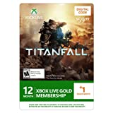 Xbox LIVE 12 Month +1 Month Gold Membership for Titanfall [Online Game Code]