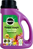 Lawn &amp; Patio - Miracle-Gro 1kg Flower Magic Flower Seeds with Feed and Coir Mix Jug (Multi-coloured)