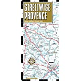 Streetwise Provence Map - Laminated Regional Road Map of Provence, France