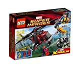 Lego Super Heroes - 6866 - Jeu de Construction - L'H�licopt�re de Wolverine