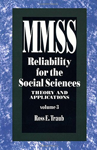 Reliability for the Social Sciences: Theory and Applications (Measurement Methods for the Social Science)