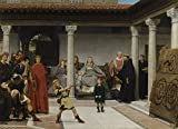 The Museum Outlet - Alma-Tadema - Education of the children - Canvas Print Online Buy (24 X 32 Inch)