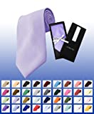 Silky Feel Poly Solid Color Tie