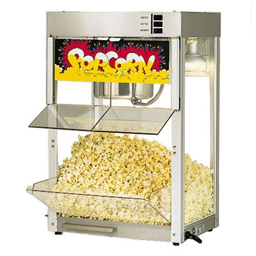 Star Manufacturing 86Ss Super Jetstar Counter Popcorn Popper, 8 Oz. Kettle