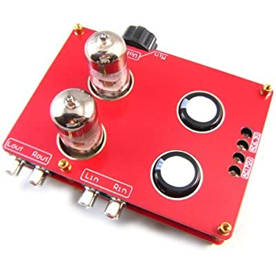Assembled 6N3 Hifi Buffer Audio Tube Headphone Amplifier Pre-amp Kit with Transformer