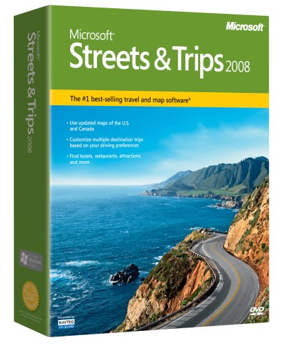 Microsoft Streets and Trips 2008 [OLD VERSION] (Mapping Software compare prices)