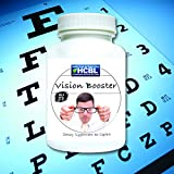 Vision Booster MAXIMUM Eye Support - Strength Vision Quickly Top Eye Nutrients (30 day supply)