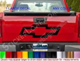 Chevy BOWTIE Tailgate Decal Decals Avalanche S10 Blazer CHEVROLET Chevy Truck Sonoma Colorado Sticker Stickers