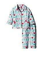 Toby Tiger Pijama Pjtblflow (Azul)