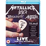 "The Big Four: Live From Sonisphere / Sofia Bulgaria [Blu-ray]von ""Metallica"""
