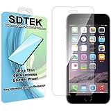 SDTEK [Ultimate Protection] iPhone 6 Vidrio templado último protector de pantalla resistente a arañazos 9H Dureza 0.25mm Thin