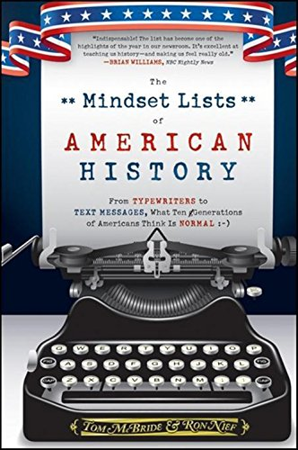 The Mindset Lists of American History: From Typewriters to Text Messages, What Ten Generations of Americans Think Is Nor