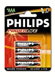 Philips PowerLife Alkaline AAA Multipack (4 Batteries)