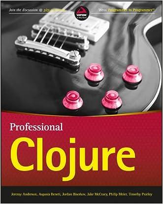 Professional Clojure written by Timothy Pratley