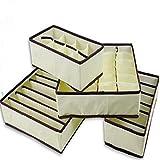Life Connection 収納ボックス 4点セット 総計45ボックス 折り畳み可能 収納ケース (ホワイト)