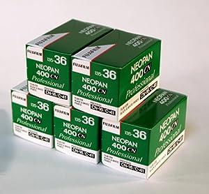 Fuji Neopan 400CN 135-36 Pack of 5 rolls