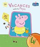 De vacances amb la Pepa (La Porqueta Pepa. Quadern d'activitats 4 ANYS): (Amb enganxines) (PEPPA PIG)