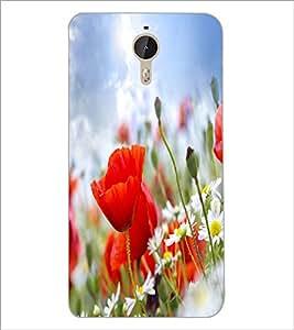 PrintDhaba Flower D-2252 Back Case Cover for LETV (LE ECO) LE 1 PRO (Multi-Coloured)