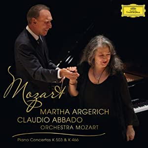 Mozart: Piano Concerto No.25 in C Major K.503; Piano Concerto No.20 in d Minor K.466