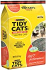 Tidy Cats Cat Litter, Non-Clumping, 24/7 Performance, 30-Pound Bag, Pack of 1