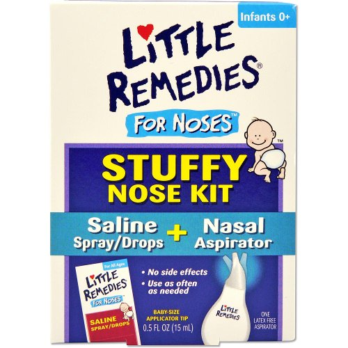Little Remedies Stuffy Nose Kit front-473001