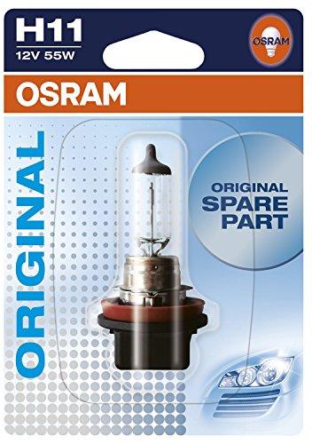 OSRAM Original 12V H11 Lampada alogena per proiettori 64211-01B - in Blister singolo