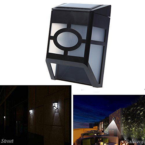 Dbpower Updated Version - Bright Led Wireless Solar Powered Motion Sensor Outdoor Light - Weatherproof, Waterproof, No Batteries Required