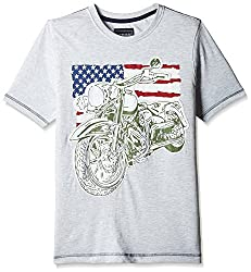 Cherokee Boys' T-Shirt (267429885_Grey-Mel_09Y)