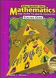img - for MATHEMATICS The Path To Math Succrss! TEACHER GUIDE GRADE 5 VOLUME 1, MILLENNIUM EDITION 2001 SILVER BURDETT GINN book / textbook / text book