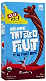 Clif kids Twist Fruit-Strawberry (100% Organic), 0.7-Ounce (Pack of 6)