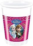 Party2u - 380103 - Frozen - Gobelets En Plastique - Pack De 8