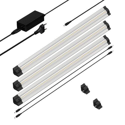 Parlat connettore per lampade da sottopiano triangolari 24v for Lampade a led lunghe