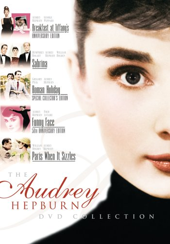 The Audrey Hepburn DVD Collection (Breakfast at Tiffany's / Sabrina / Roman Holiday / Funny Face / Paris When It Sizzles)